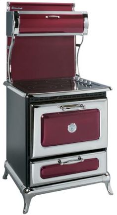"8210CRANBERRY by Heartland in Arkansas, Kansas, Missouri, & Oklahoma - Cranberry 30"" Classic Electric Range - Model 8210"