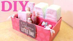 Caja organizadora para Bebes -  Baby -  Organizer - Reciclando Bolsas de...