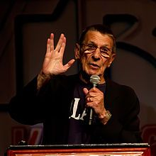 Leonard Simon Nimoy (/ˈniːmɔɪ/ NEE-moy; born March 26, 1931) is an American actor, film director, poet, singer and photographer. Nimoy is best known for his role of Spock in the original Star Trek series (1966–1969), and in multiple film, television, and video game sequels .Nimoy giving the Vulcan salute in 2011.