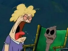 I got The Chocolate Lady! Which SpongeBob Character Are You?