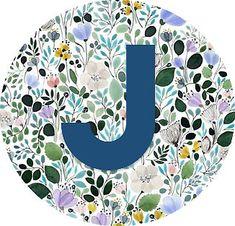 J letter monogram