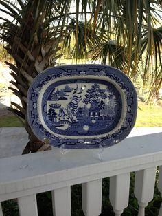 Blue Willow Platter