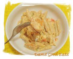 Dame Good Eats: Buffalo Chicken-Sausage Penne