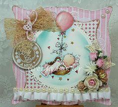 Het kaartenhoekje van Gretha: Lili of the Valley Sneak Peek Baby Girl Cards, New Baby Cards, Pretty Cards, Cute Cards, Card Tags, I Card, Baby Barn, Beautiful Handmade Cards, Card Making Inspiration