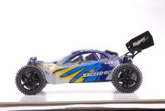 1/10 2.4Ghz Exceed RC Hyper Speed Beginner Version .16 Engine Nitro Powered Off Road Buggy Fire Blue ***STARTER KIT REQUIRED***