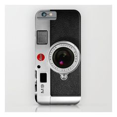 Classic Retro Black Silver Leather Vintage Camera … iPhone 6s Case ($35) ❤ liked on Polyvore featuring accessories, tech accessories, iphone & ipod cases, ipad hard shell case, leather ipad case, ipad cover case, genuine leather ipad case and ipad sleeve case