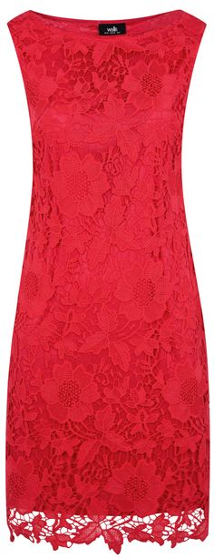 cute red lace dress - http://www.boomerinas.com/2015/03/13/lace-is-still-hot-modern-ways-to-wear-lace-for-spring-summer-2015/