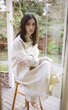 Very excited about our heavy linen Sleep Shirt for Fall 2014.