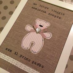 Quadro baby stoffa / baby fabric picture eseciriescoio.wordpress.com