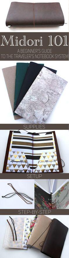 Traveler's Notebook Setup, Midori, Planner