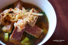 Fast and Easy Miso Soup Recipe | Meghan Telpner Nutritionista