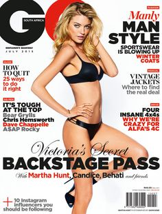 Martha Hunt for GQ South Africa - July 2015