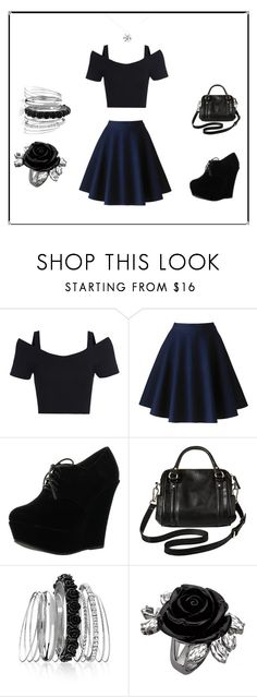 """""""Bangin"""" by ivyhatesyew on Polyvore featuring Forever Link, Merona, Avenue and Tiffany & Co."""