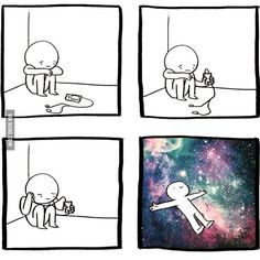 What song makes you go into your own world? - 9GAG
