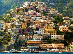 Beautiful Positano, Amalfi Coast, Italy is one of the most beautiful places I have seen in the world! Places Around The World, The Places Youll Go, Travel Around The World, Places To See, Dream Vacations, Vacation Spots, Places To Travel, Travel Destinations, Foto Picture