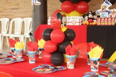 Mickey Mouse Birthday Party Ideas   Photo 12 of 17   Catch My Party