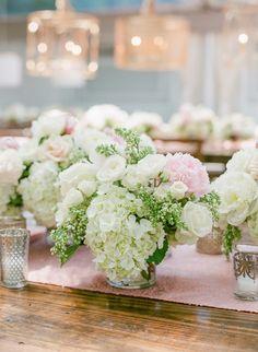 #hydrangea  Photography: Corbin Gurkin Photography - corbingurkin.com  Read More: http://www.stylemepretty.com/2014/09/22/emily-maynards-surprise-wedding-to-tyler-johnson/