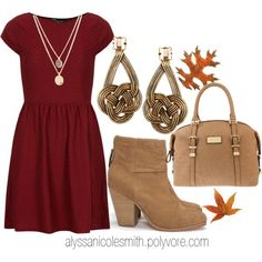 """""""Dress To Impress His Parents: Thanksgiving Day 04"""" by alyssanicolesmith on Polyvore"""