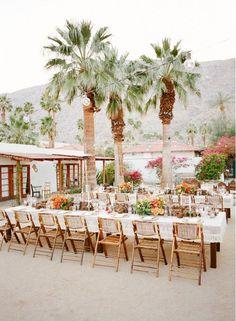 Palm Springs wedding dreams.
