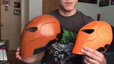 Deathstroke Foam mask - YouTube