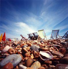 Brighton beach in Summer.