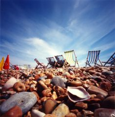 Go to Brighton beach in UK #check