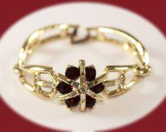 Vintage Crystal Wrap Bracelet Rhinestone by IRENESVINTAGEBLING