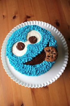Cookie Monster Cake Recipe