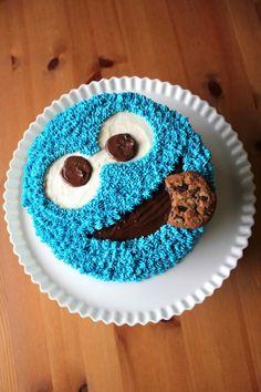 Cookie Monster Cake Recipe