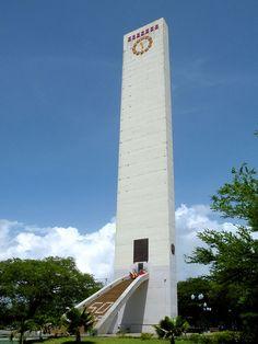 Obelisco Barquisimeto Venezuela Construido en 1952 con ocasión del cuatricentenario de la fundación de la ciudad, es mas alto que el de Washington y el de Buenos Aires.