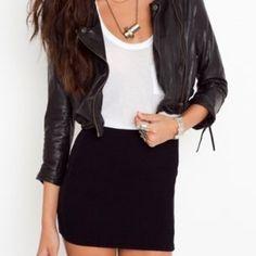 LISTING: SIMPLE BLACK BODYCON SKIRT!!! Basic black body con skirt!! Skirts Mini
