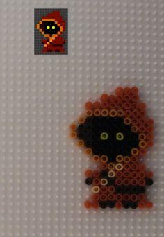 HAMA PERLER BEADS / PERLES À REPASSER / STRIJKPARELS - Hama Beads Mini - Jawa by Lulugothic on deviantART