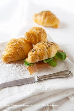 Mini croissant salati