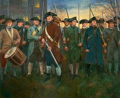 Barrett Family Concord  New England Militia | by snowshoemen
