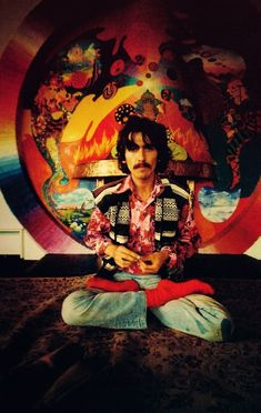 George Harrison - a favorite Yogi Loved and Pinned by www.downdogboutique.com to our Yoga community boards