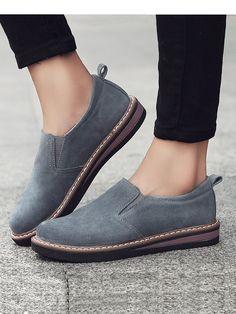 45e1ed4036a 2018 Autumn Women Classic Flat Shoes Comfortable Round Toe Leisure Shoes