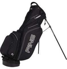 1031546892c2 Ping golf bag in all black Golf Stand Bags