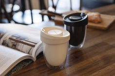 charlwood design uppercup a sustainable   reusable coffee cup - designboom | architecture