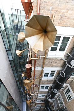 Designed by artists Maria Smith and Je Ahn of Studio Weave, Lullaby Factory is directly across from the Great Ormond Street Hospital for Children in London and is meant to be a secret place that provides pure entertainment for patients, their parents, and the hospital staff.