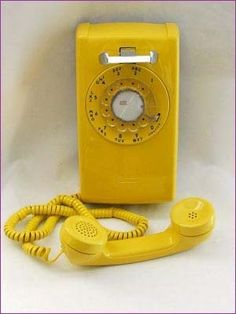 1960s western electric - YELLOW!