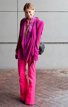 Love the quirkiness of the color combo