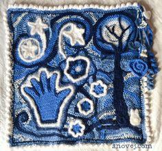 Freeform CAL by Marina | Project | Crochet / Pillows | Blankets & Afghans | Kollabora