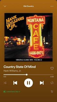 Country Playlist, Hank Williams Jr, Country Music Lyrics, My Name Is, Names, The Originals, Classic, Derby, Country Lyrics