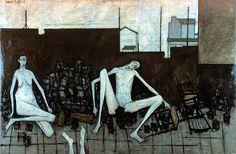 La Barricade, 1949, Bernard Buffet