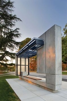life1nmotion:  ModernBus Shelter by Pearce Brinkley Cease Lee, Raleigh, North Carolina, USA