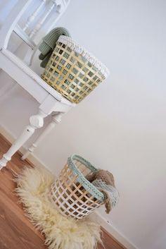 DIY ikea baskets (draad en praat...)