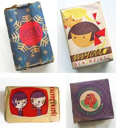 beautiful vintage soap packaging (eastern europe?)  Julia Freund onto packaging