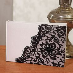 Beverly Clark Gala Collection Guest Book - #centerofattention #wedding #guestbooks