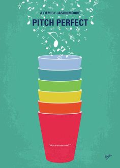 This poster uses repetition, variety, and composition extremely well. The different colored cups is a great use of variety and repetition. The artist has used warmer colors at the bottom and colder colors at the top, so it draws your eye closer to the typography used. All the elements are well balanced, everything is equal, no bad negative space. Also, the artist has put rhythm to good use with the different music notes flowing out of the cups.
