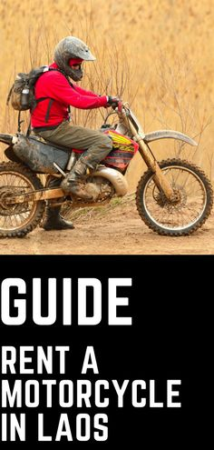 Planning a trip to Laos? Check out our guide on how to rent a motorcycle in Laos. Find out about cost, restricted roads in Laos and rules and regulations on the roads of this amazing country. #laos #motorcycle #adventure #guide